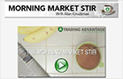 Morning Market Stir: Stocks Close at Lows and Weakness Persists