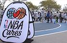NY Knick Center Cole Aldrich Helps Launch Season-Long Community Outreach Program