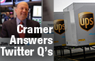 Cramer: UPS Still a Buy Even at Its Current Price, Facebook Stock Likely to Get Hammered