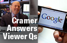Jim Cramer Says Google Is Going to $800, Buy Allergan Over Pfizer