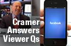 Jim Cramer Says Choose Facebook Over Sony, Ride NVIDIA's Momentum